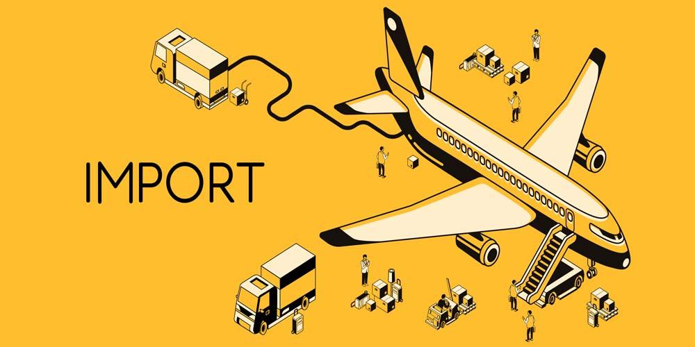 خدمات واردات